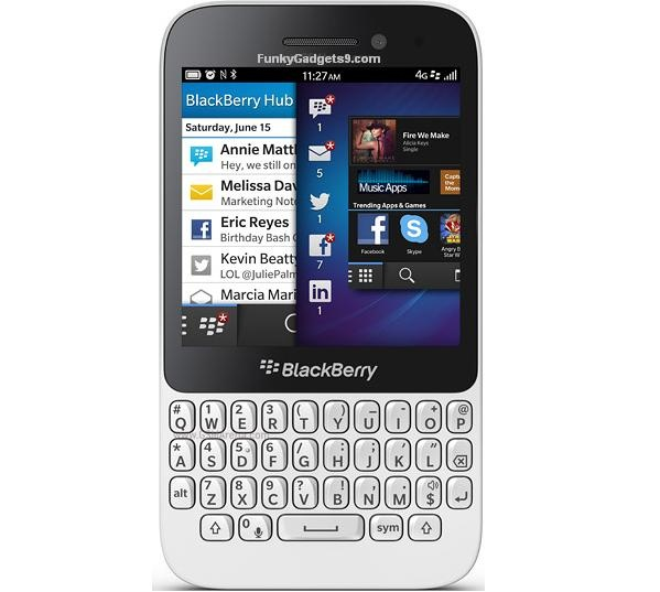 Features and Specifications of BlackBerry Q5