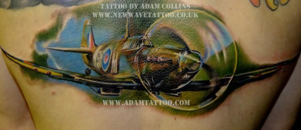 Silly Darrens Spitfire Tattoo Well Done Son Photos From Tattooadam ...
