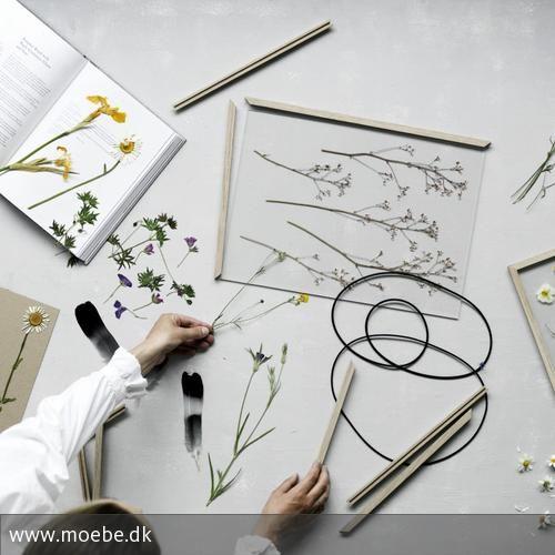 Blumendeko DIY mit Oak Frame von moebe.dk