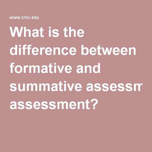 12 best Formative Assessment Overview images on Pinterest