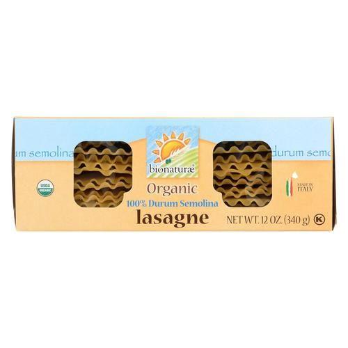 Bionaturae Durum Semolina - Lasagna - Case Of 12 - 12 Oz.