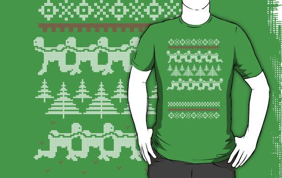 Human Centipede Christmas Sweater - Green | Holiday Sweater Ideas ...