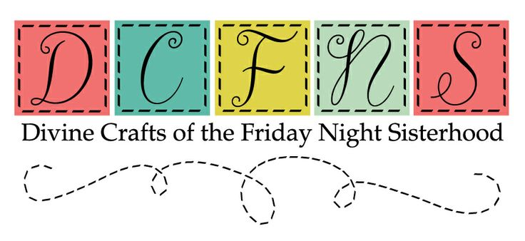 Logo for the Divine Crafts of the Friday Night Sisterhood group. #quilt #business #quilting