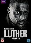 Luther - Series 1-4 [DVD] 19.99 (Prime) @ Amazon 21.98