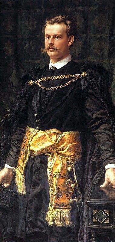CountArtur Władysław Józef Maria Potocki(1850–1890) was aPolishnobleman (szlachcic) - Jan Matejko #portrait#janmatejko#poland