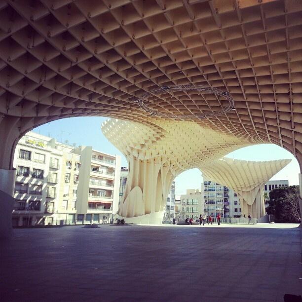 Parasol, Seville, Spain #ontheroad #seville #spain #travel