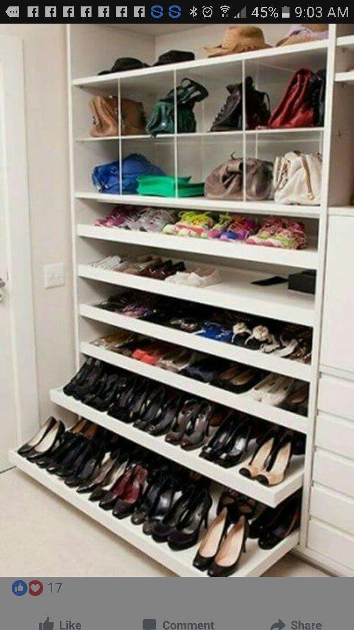 Schuhe Regalen
