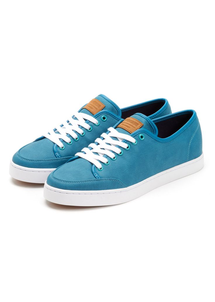 STITCH PU LOW-TOPS  KAPOW BLUE