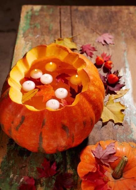 50 pumpkin decorating projects - Pumpkin Decorations