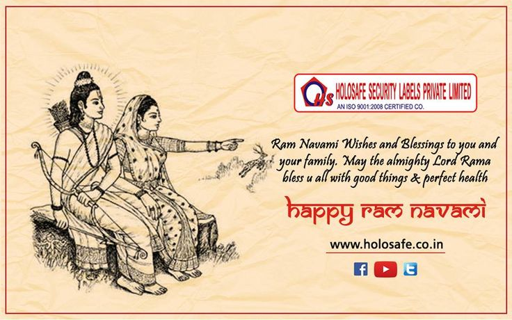 Happy Ram Navami #Holosafe Security Labels Pvt. ltd.