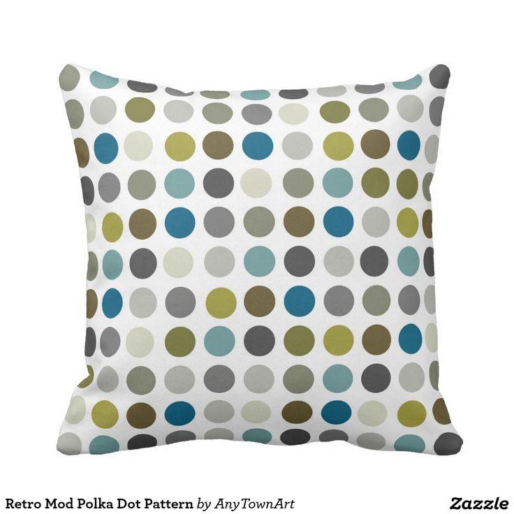 Retro Mod Polka Dot Pattern