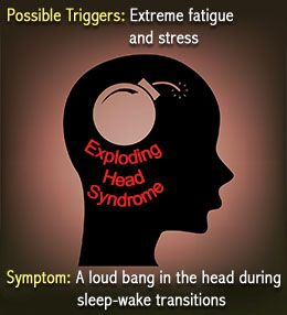 exploding head syndrome - Google Search