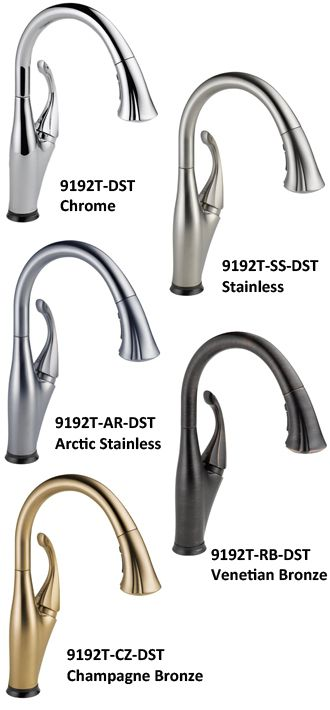 Delta Addison 9192t Dst Rated Best Touchless Faucet Kitchen
