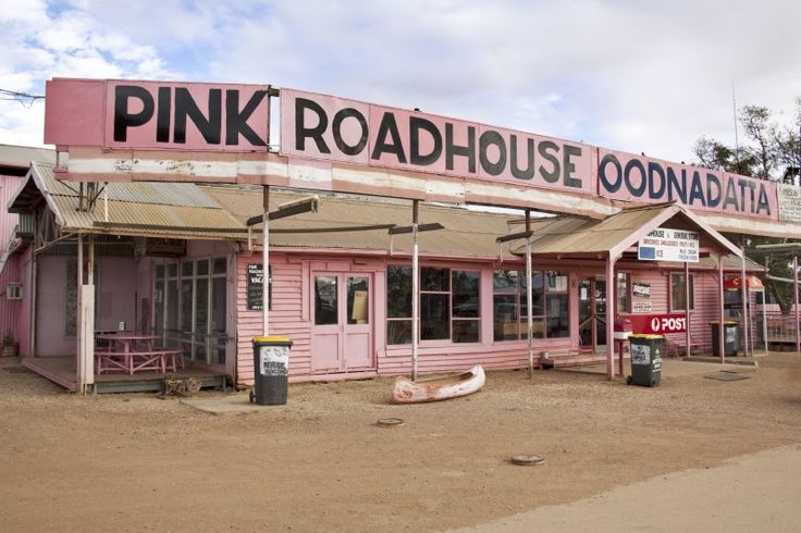 The Pink Roadhouse is one of the last stops before going into the Simpson Desert in South Australia