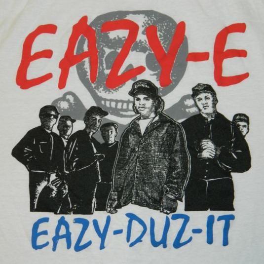Vintage EAZY-E T-Shirt #nwa #hiphop #rap #ganster