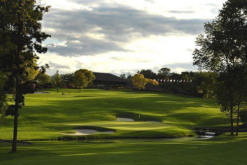 The Memorial PGA golf tournament, Dublin, OH.