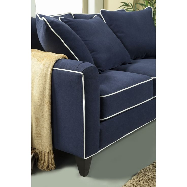 Furniture of america alton contemporary chenille sofa for Modern furniture deals