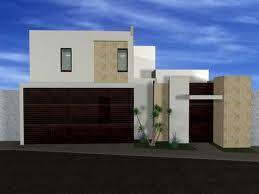 Fachadas minimalistas una planta buscar con google for Plantas de casas minimalistas
