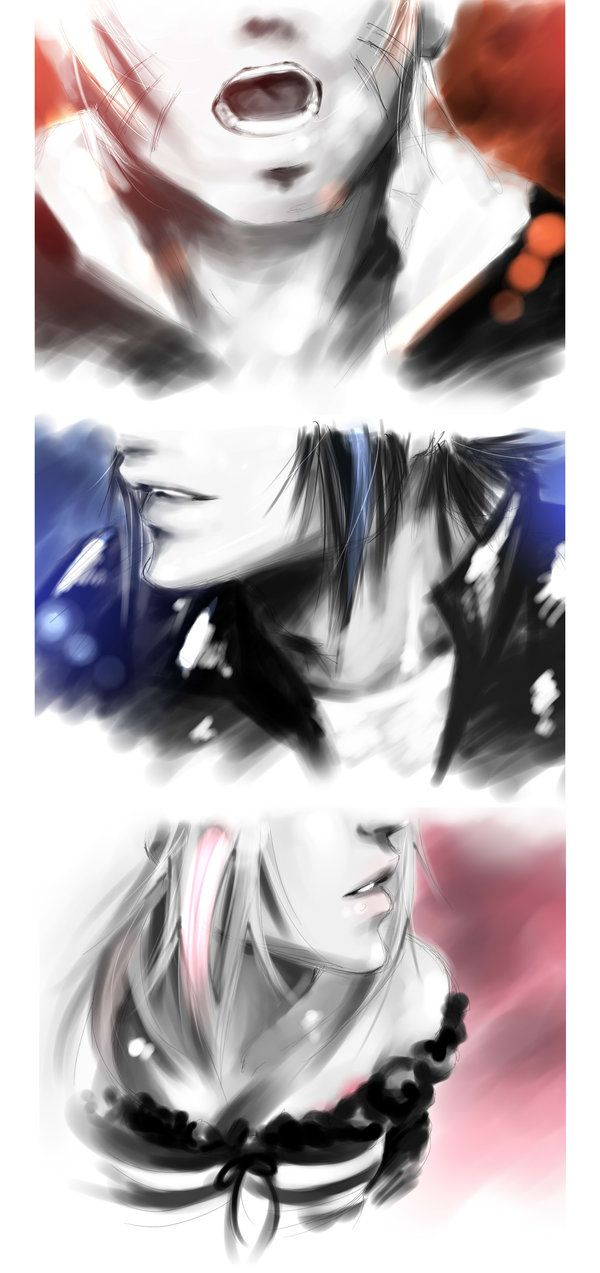 #Naruto, #Sasuke & #Sakura As Rockstar by ilaBarattolo on deviantART