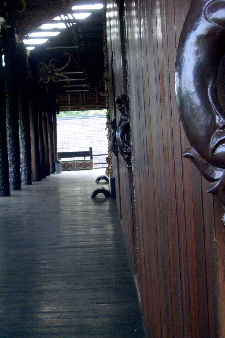Empty wood house