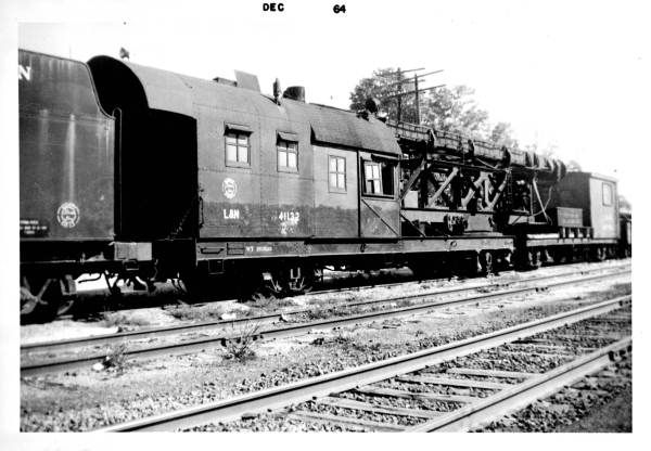 Louisville and Nashville Railroad Company steam pile driver - Bonifay, Florida