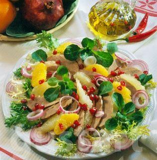 Lajos Mari konyhája - Gyümölcsös kacsamellsaláta