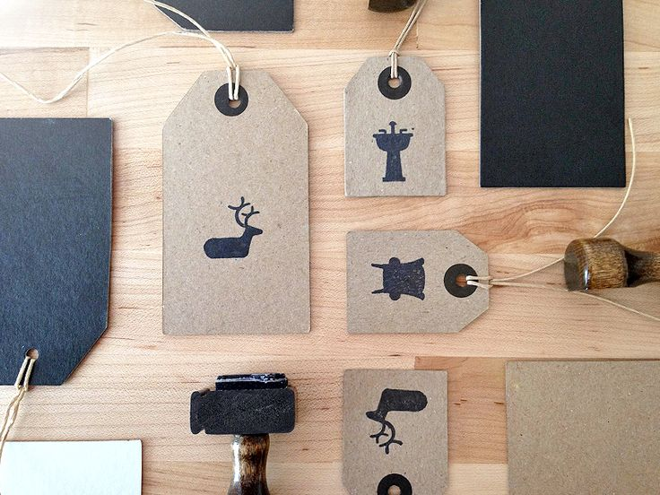 Skelton Hang Tags by Focus Lab