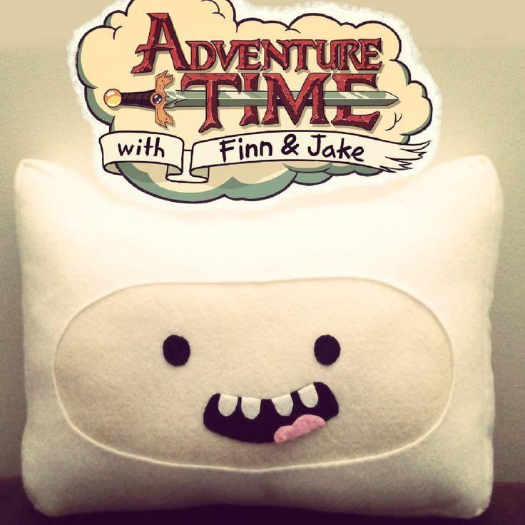 Finn the human pillow #finnthehuman #Finn #adventuretime #carlingscorner #finnpillow