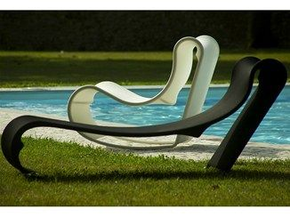 Technical fabric lounge chair / garden bed CALIFORNIA | Lounge chair - AREA…
