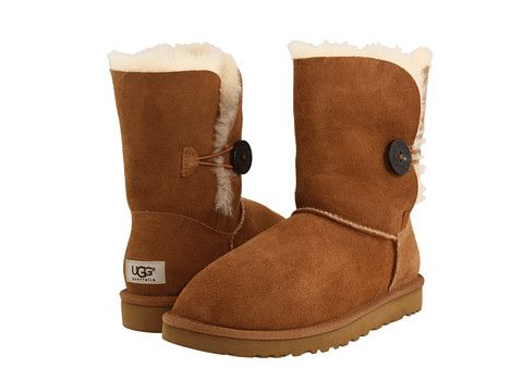 UGG Bailey Button- I know they're fundamentally kind of ugly, but they are so nice to wear on the weekends when it's cold outside.