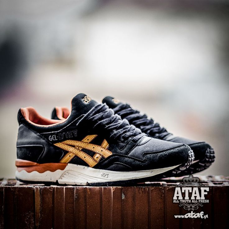 ASICS GEL LYTE V BLACK TAN / VEGAN PACK