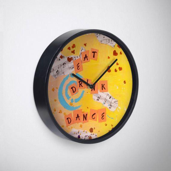 13 best Wall Clocks images on Pinterest | Clock art, Wall clocks and ...