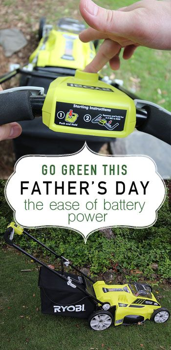 This powerful battery powered lawn mower is a dream come true! Powerful and easy to use!