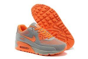 Prezzi bassi grigio/arancioni - scarpe da ginnastica nike air max 90 hyperfuse kpu tpu donna acquisto online