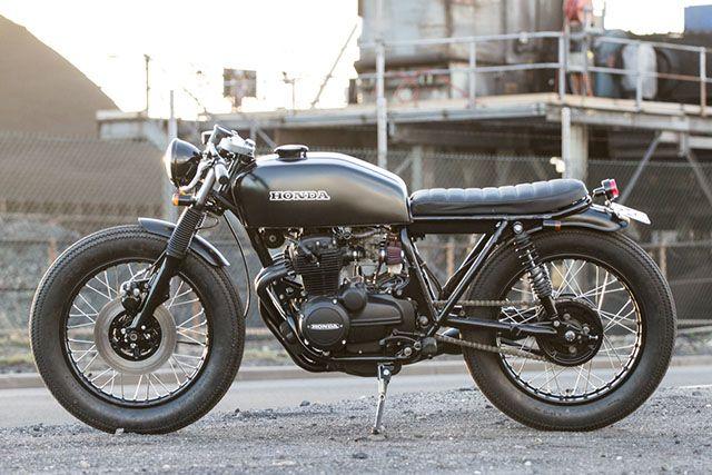 Black Honda cg 125