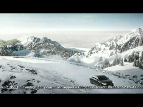 New Citroën C5 Tourer. See the 2011 French TV spot here!