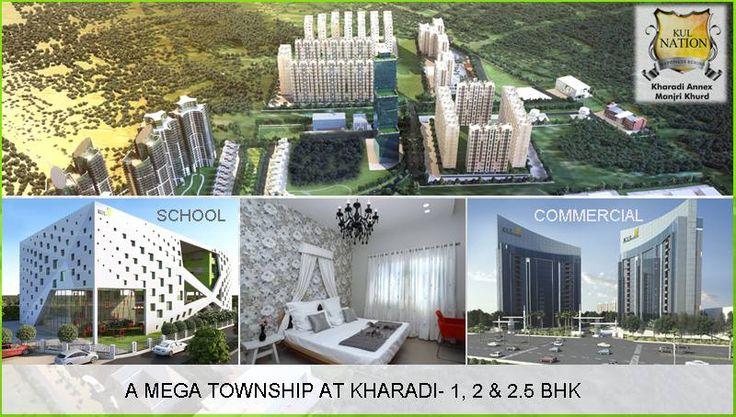 A Mega Township of 1, 2 and 2.5 BHK Flats at Kharadi Pune