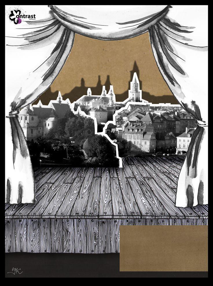 """""""All the world's a stage, and all the men and women merely players"""" / """"Świat jest teatrem, aktorami ludzie""""  http://issuu.com/miesiecznikkontrast/docs/kontrast_styczen-luty_2013 (Author: Joanna Krajewska)"""
