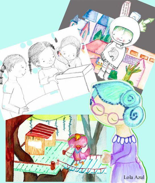 Apuntes de colores: Últimas ilustraciones