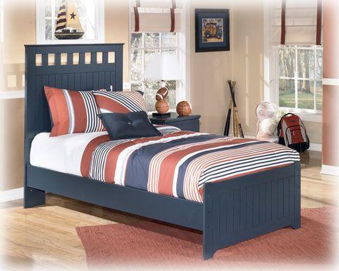 leo twin panel bed
