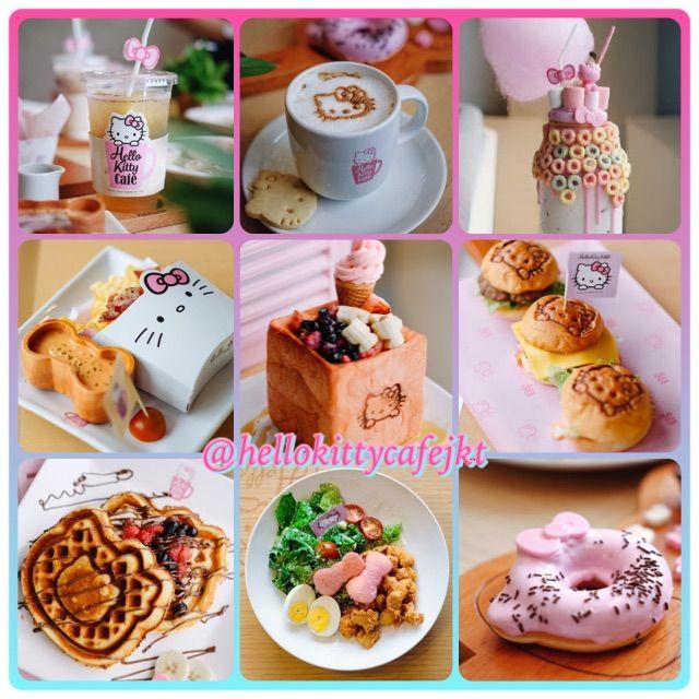 Menu enak di Hello Kitty Cafe, PIK #menu #food #hellokitty #hellokittycafe #pantaiindahkapuk