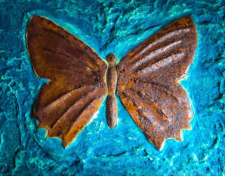Metallic Insect, Medium Carbon Steel (c) Richard Andreucetti #art #artist #metalwork