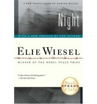 Night by Elie Wiesel. This is one I teach every year. It is a very vivid account of the holocaust. I think it is interesting to get a real account and to follow Elie's struggles with God.