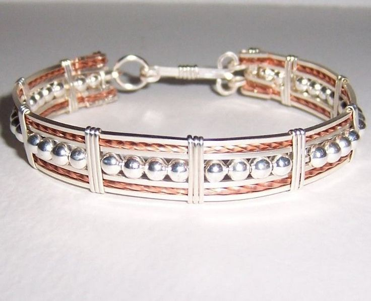 277 best Wire Wrapped Cuff Bracelets images on Pinterest | Arm ...
