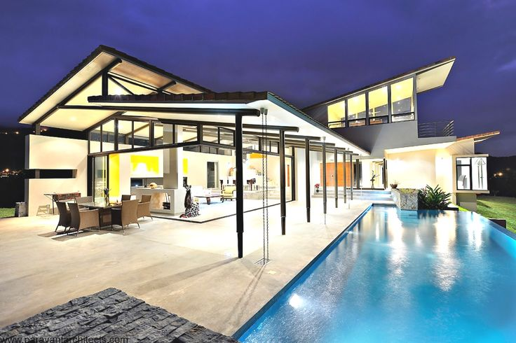 Contemporary Villa Areopagus, Costa Rica: Idea, Pool, Dream House, Costa Rica, Architecture, Homes, Design, Areopagus Residence