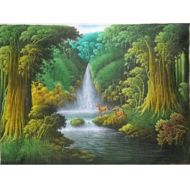 13 Lukisan Pemandangan Jembatan Gantung Lukisan Pemandangan Air Terjun Download Hutan Alam Pemandangan Jembatan Jembatan Gantung Di 2020 Pemandangan Gambar Kartun