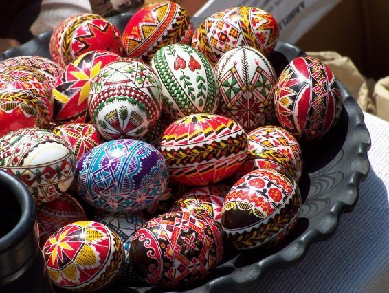 Pisanki. Polish Easter Eggs :)