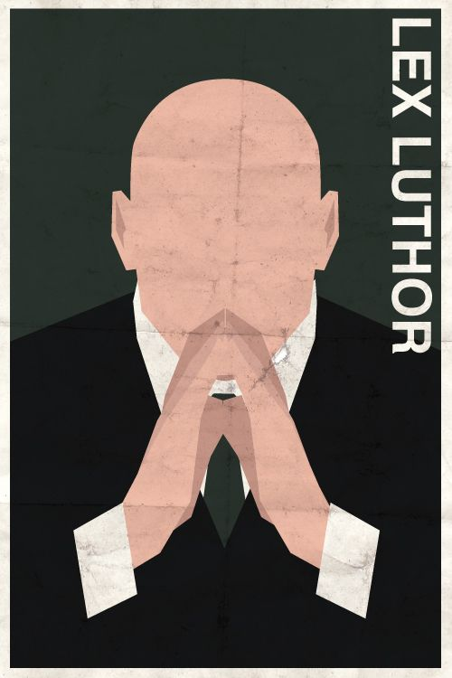 awesome minimalist luthor