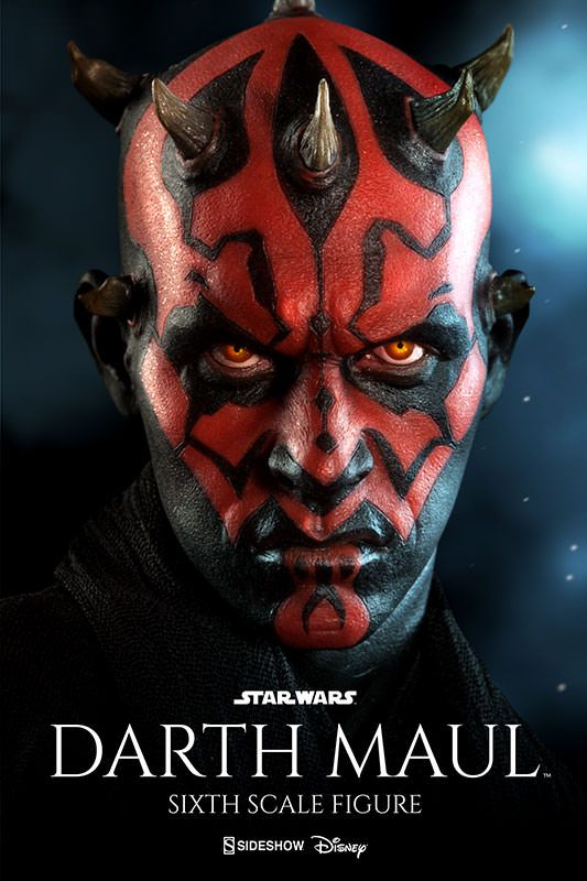 Sideshow Collectibles Announce Darth Maul Figure