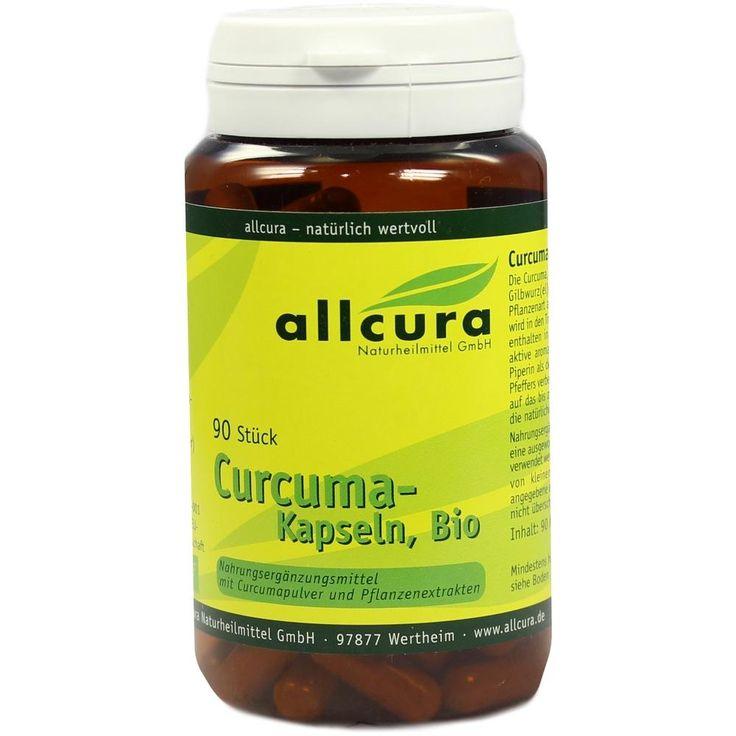 CURCUMA Kapseln Bio:   Packungsinhalt: 90 St Kapseln PZN: 00321543 Hersteller: allcura Naturheilmittel GmbH Preis: 10,82 EUR inkl. 7 %…
